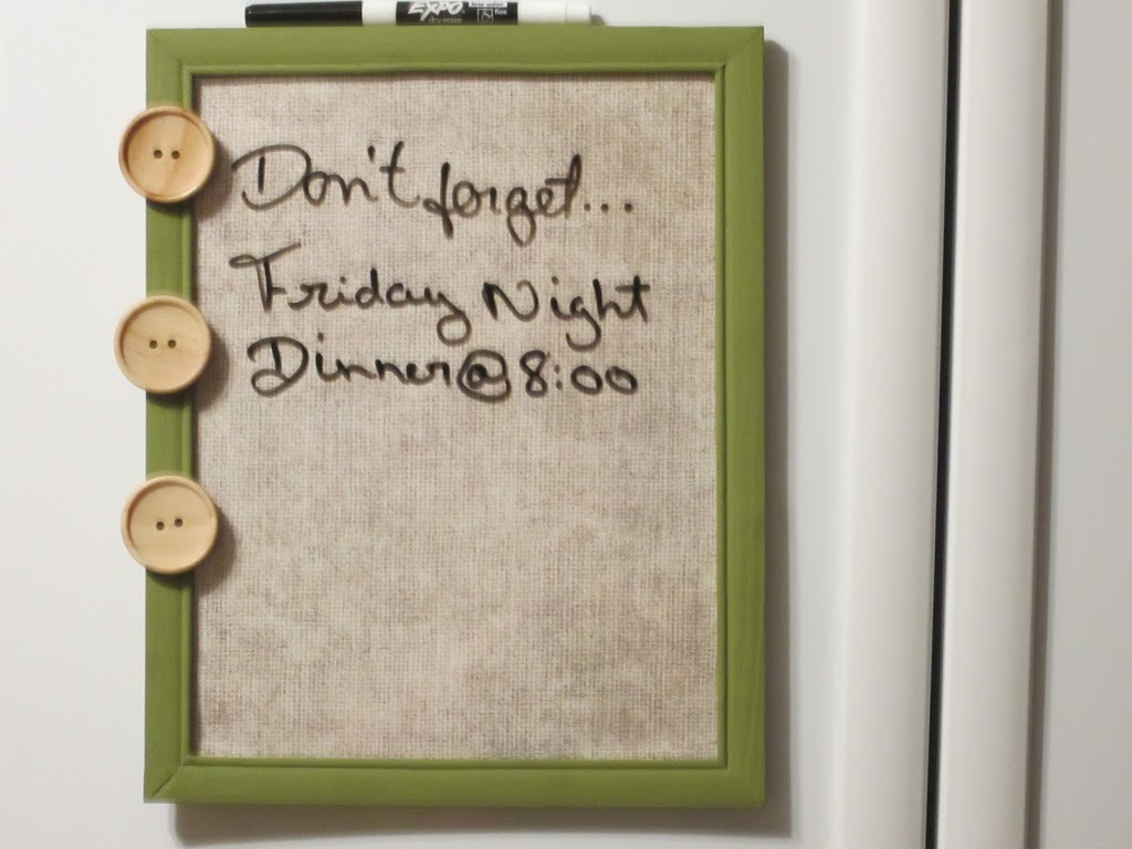 Easy Memo Board Craft