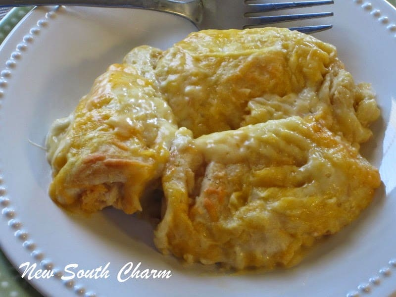 Chicken Croissant Casserole