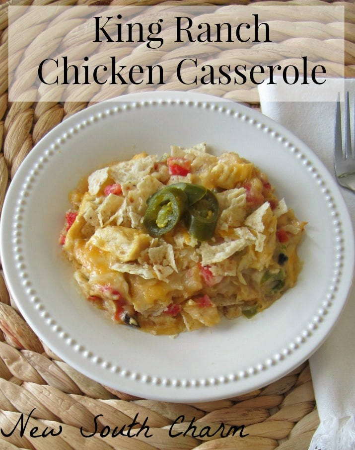 King Ranch Chicken Casserole Pin