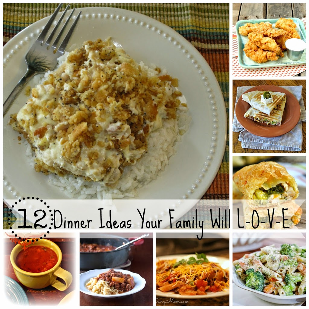 12 Dinner Ideas Your Family Will Love