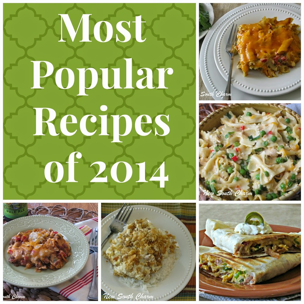 Most Popular Recipes of 2014