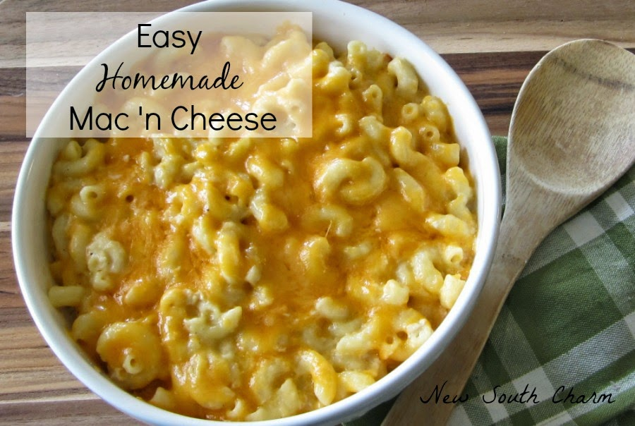 easy homemade mac 'n cheese