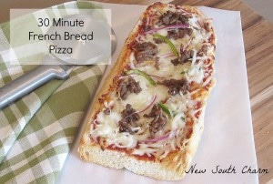 French Bread Pizza FB 6