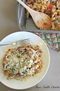 Baked Beef and Mushroom Rotini Cover