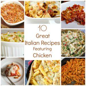 Italian Chicken Round UP