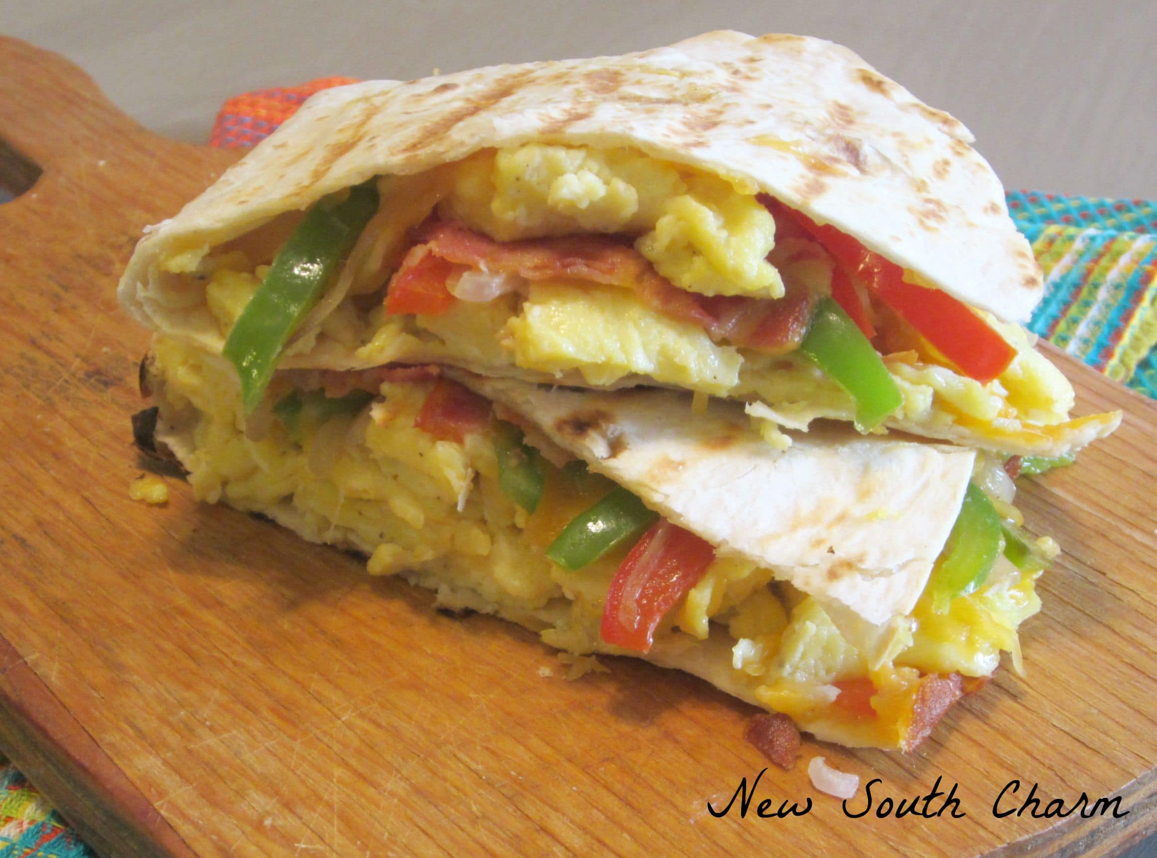 Make Ahead Breakfast Quesadillas