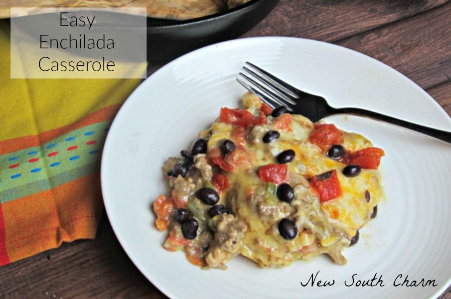 Easy Enchilada Casserole CONTENT