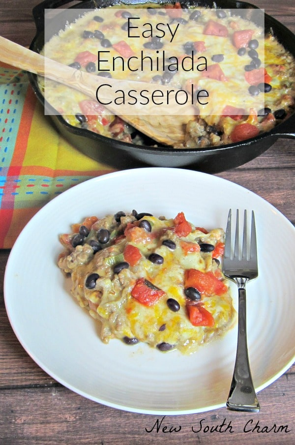 Easy Enchilada Casserole HERO