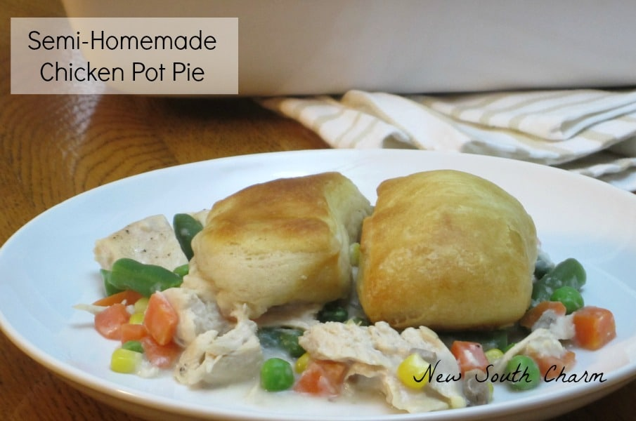 Semi-Homemade Chicken Pot Pie