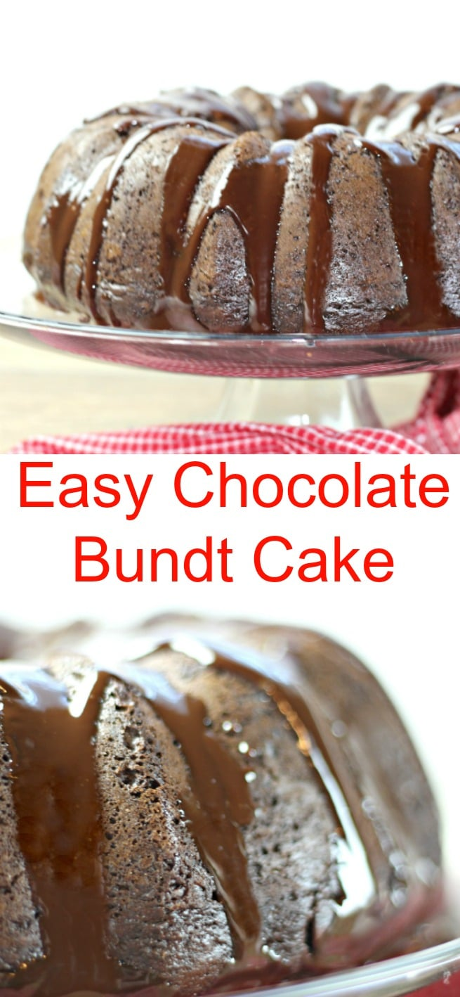 Easy Chocolate Bundt Cake New South Charm