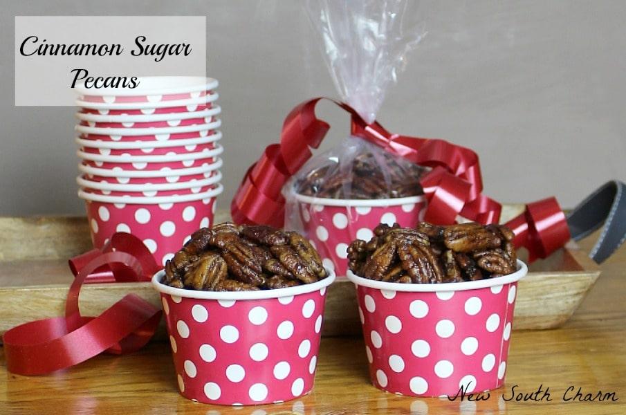 Cinnamon Sugar Pecans Content