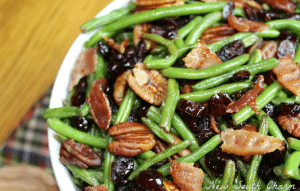 Cranberry and Pecan Green Beans Support