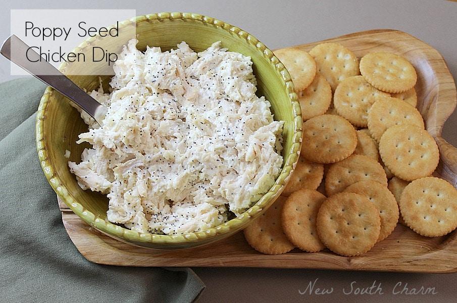 Poppy Seed Chicken Dip 5