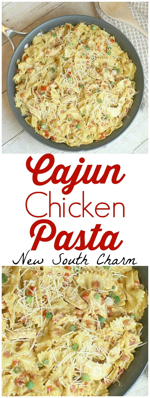 Cajun Chicken Pasta is an easy fast dinner that everyone will love.
