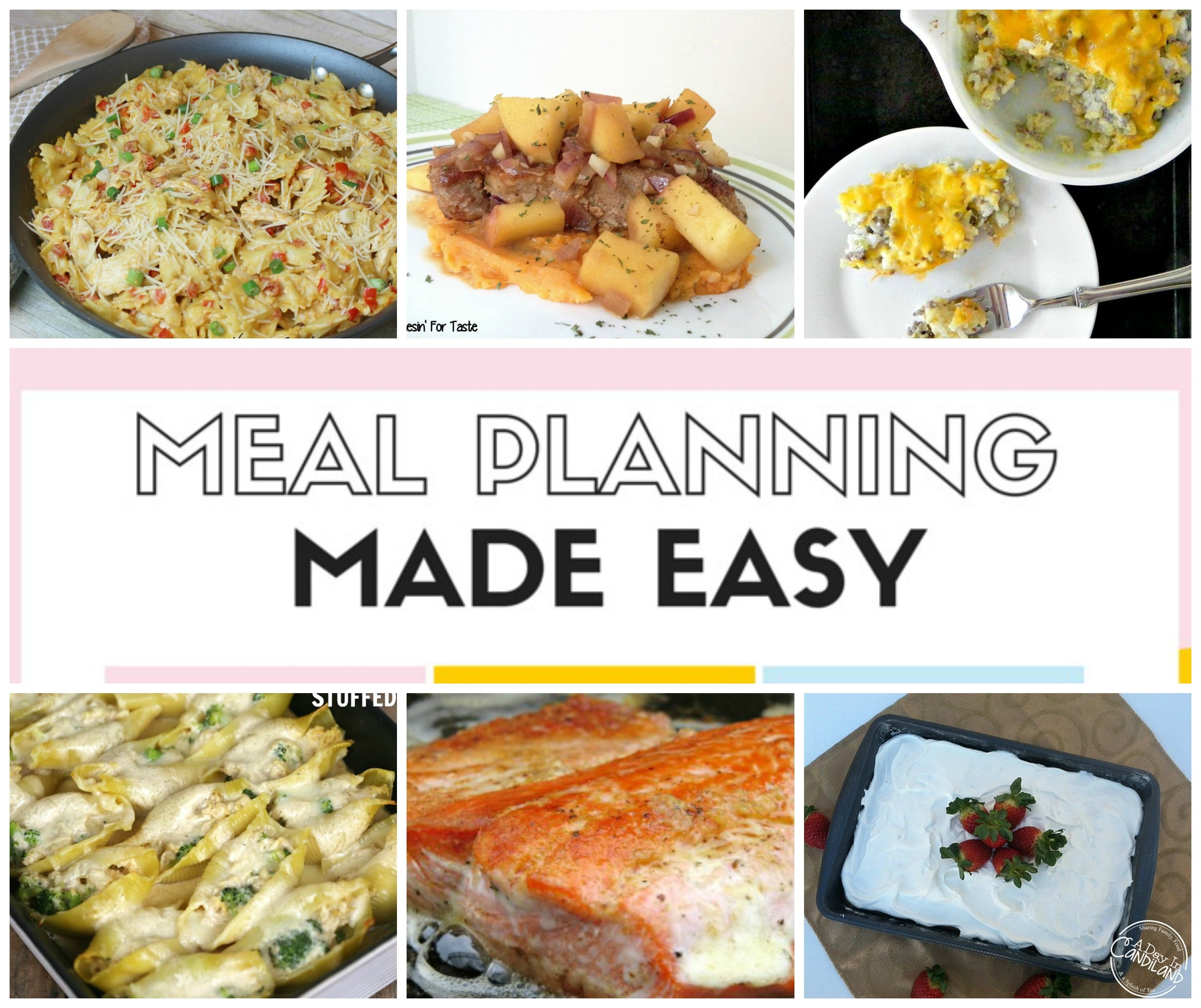 Meal Planning Made Easy Jan 24 – 30