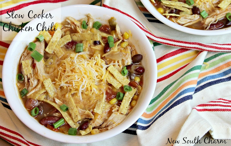Slow Cooker Chicken Chili Content