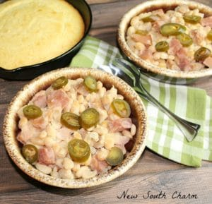 Slow Cooker Ham and White Beans Cover