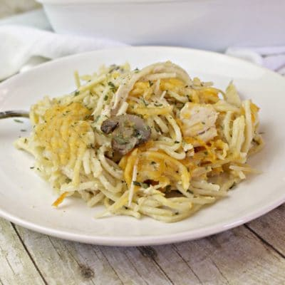 Chicken Tetrazzini (A Favorite Family Recipe)