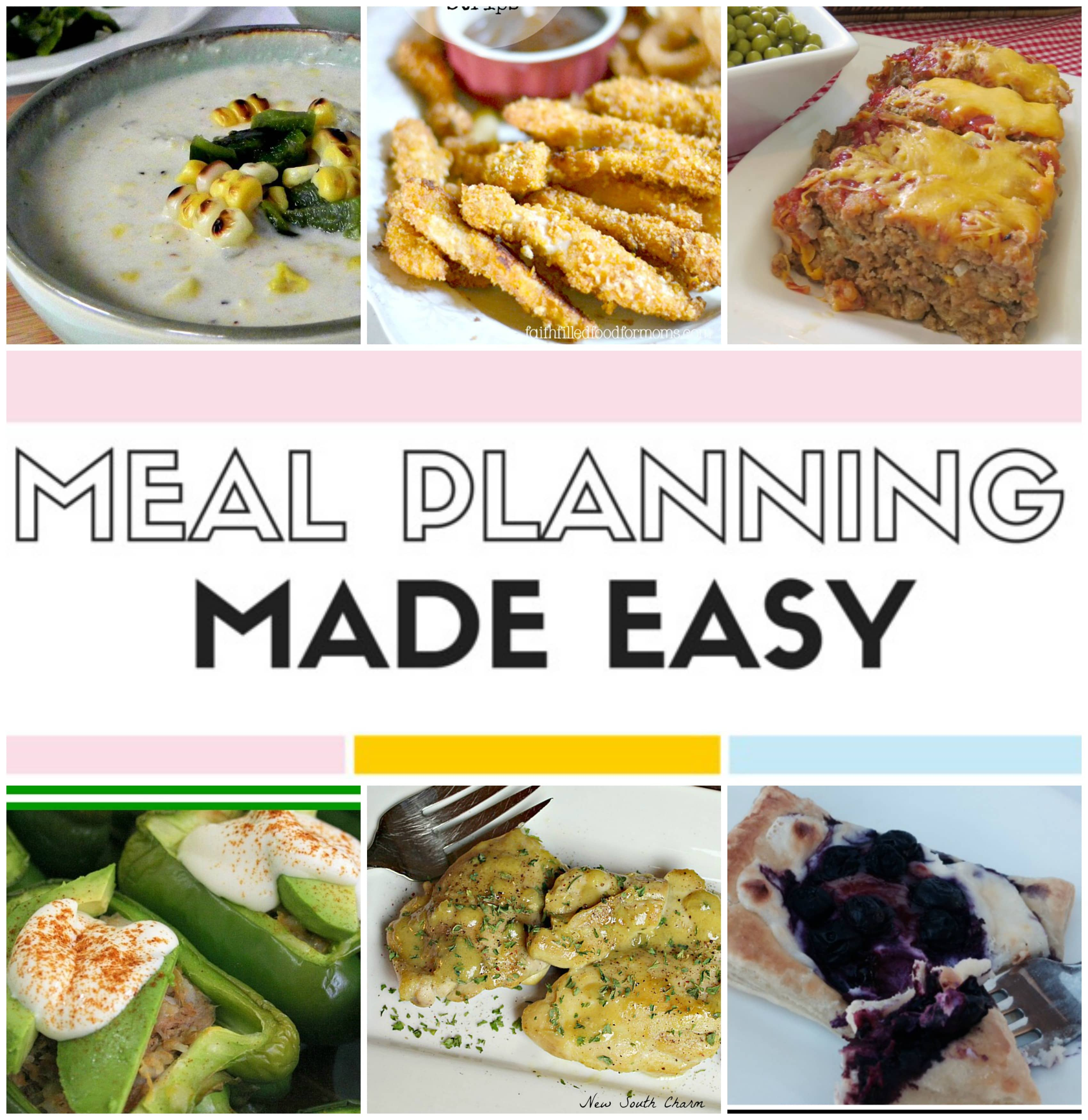 Meal Planning Made Easy Feb 27 – March 5