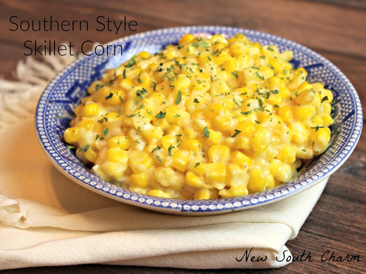 Southern Style Skillet Corn FB 3
