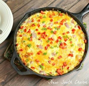 Western Omelette Frittata Cover