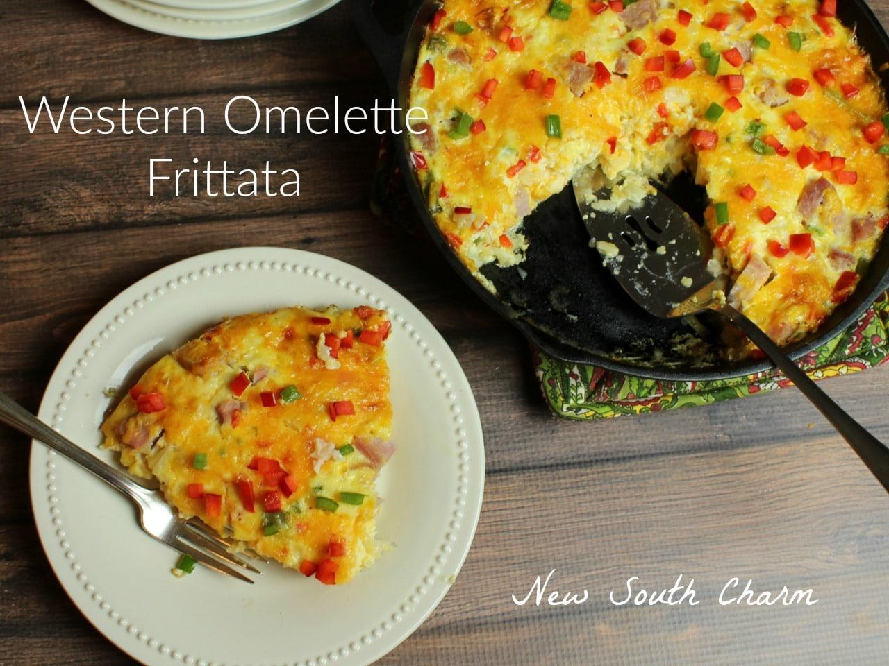 Western Omelette Frittata FB