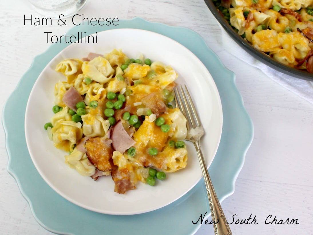 Ham and Cheese Tortellini FB