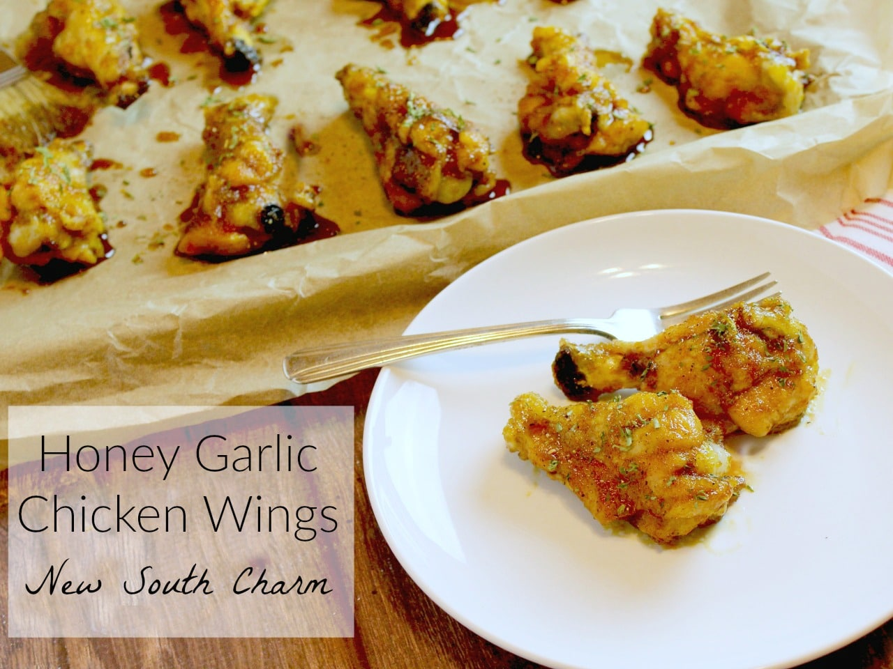 Honey Garlic Chicken Wings FB 3