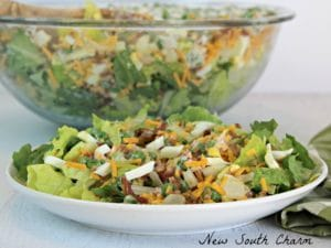 Seven Layer Salad Cover