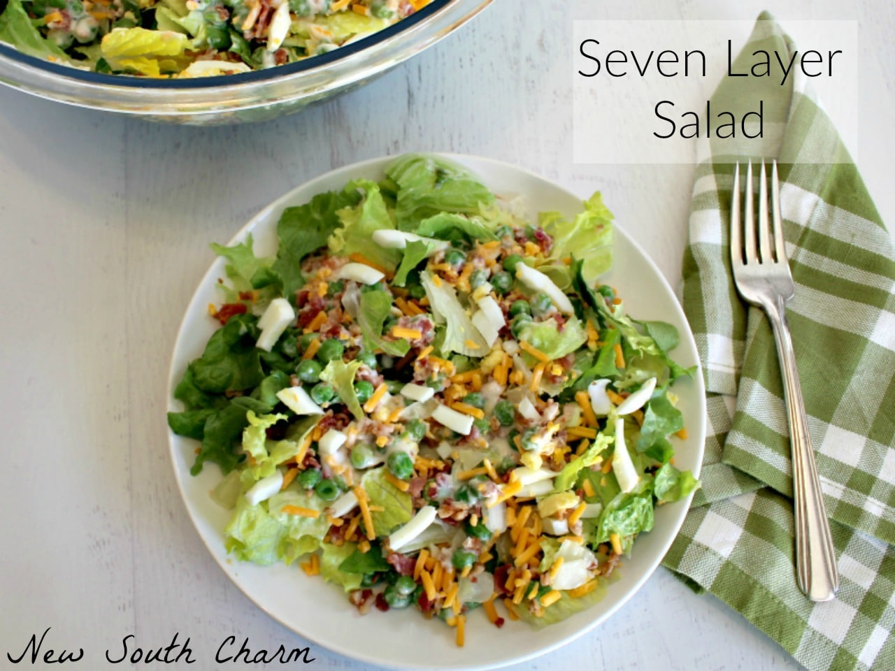 Seven Layer Salad FB