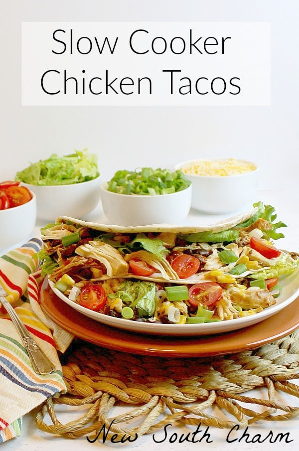 Slow Cooker Chicken Taco New South Charm