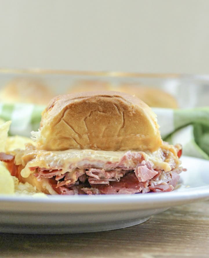 corned beef sliders