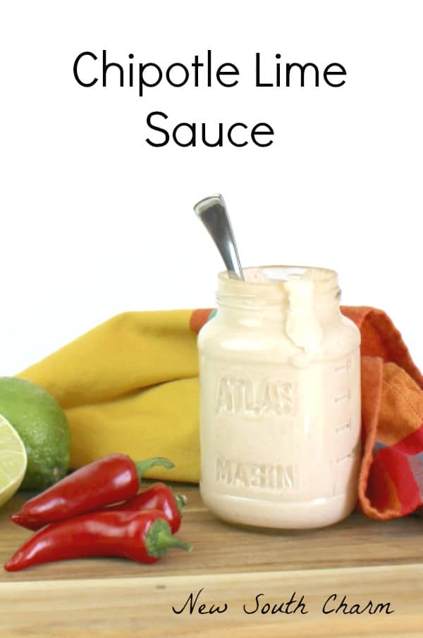 Chipotle Lime Sauce - 2