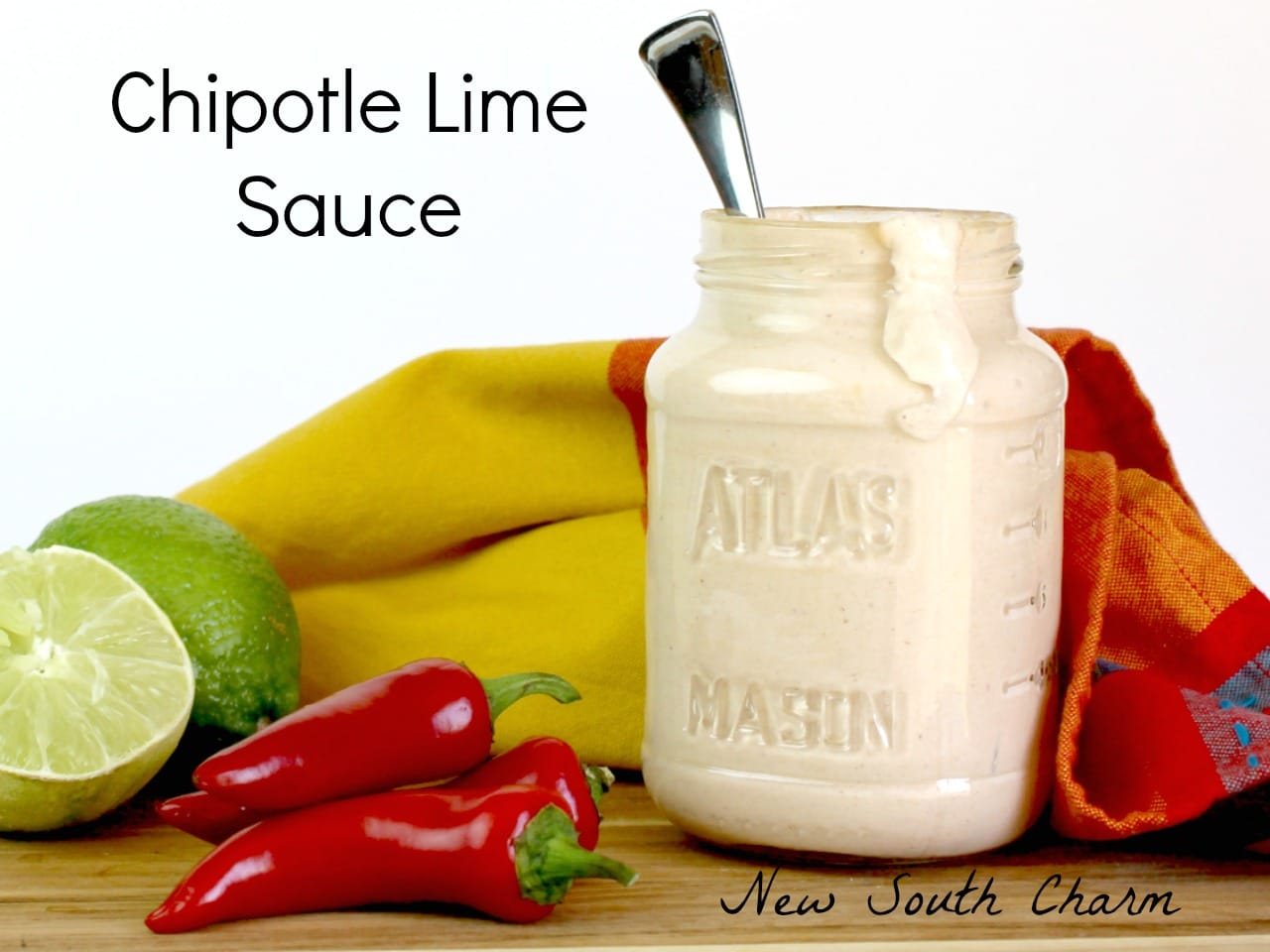 Chipotle Lime Sauce FB