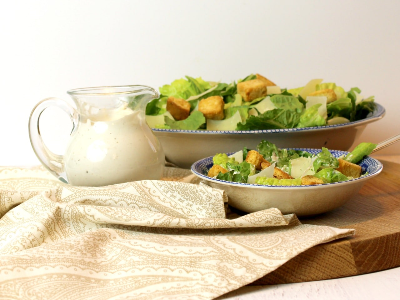 Easy Homemade Caesar Dressing