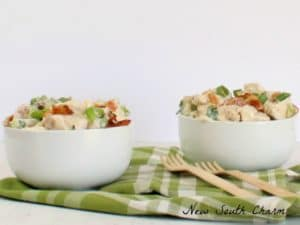 Bacon and Scallion Chicken Salad