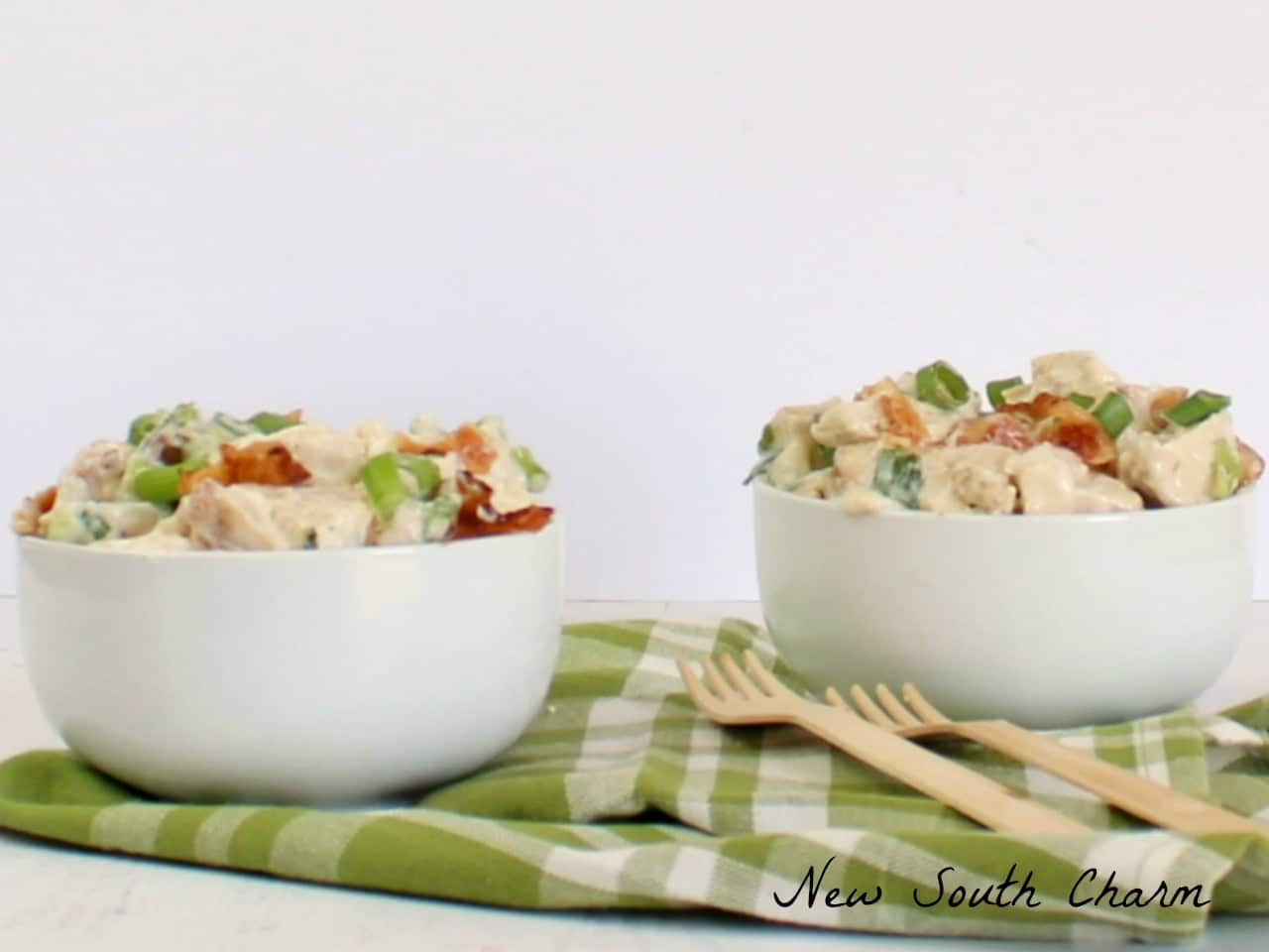 Bacon and Scallion Chicken Salad