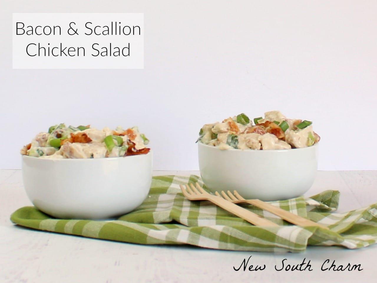 Bacon and Scallion Chicken Salad FB2