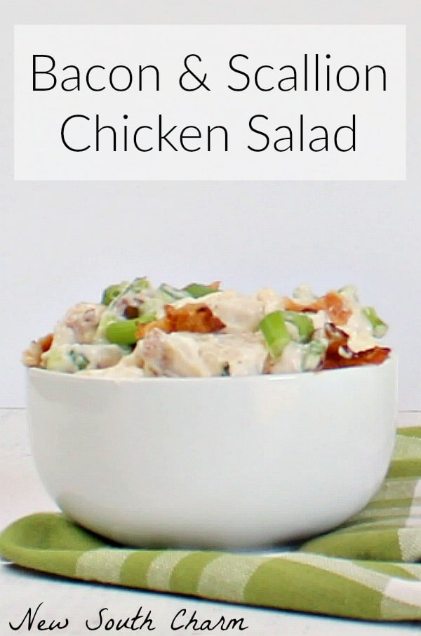 Bacon and Scallion Chicken Salad Pin2