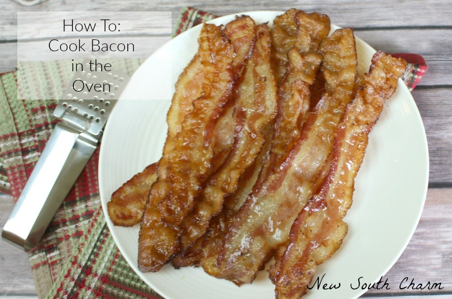 How To Cook Bacon in the Oven FB