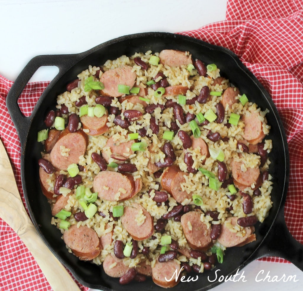 Easy Red Beans and Rice Cover