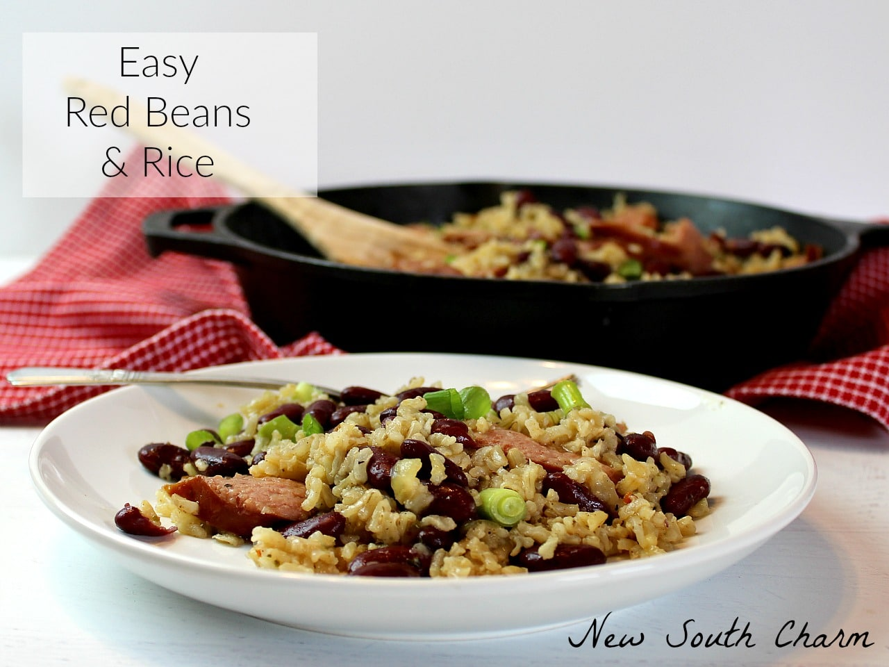 Easy Red Beans and Rice FB