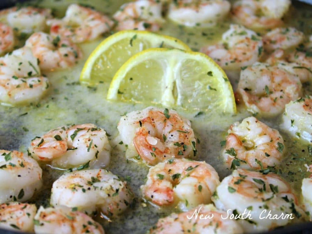 Garlic Butter Shrimp Extra