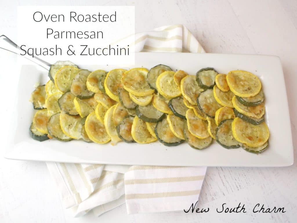 Oven Roasted Squash and Zucchini