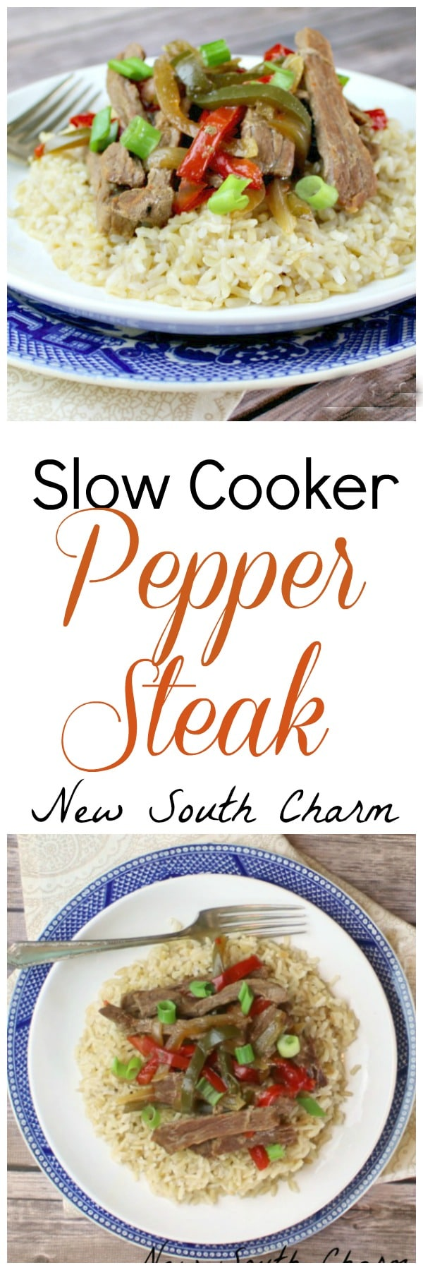 Slow Cooker Pepper Steak EASY and inexpensive to make. Just like the take out version but made a little healthier.