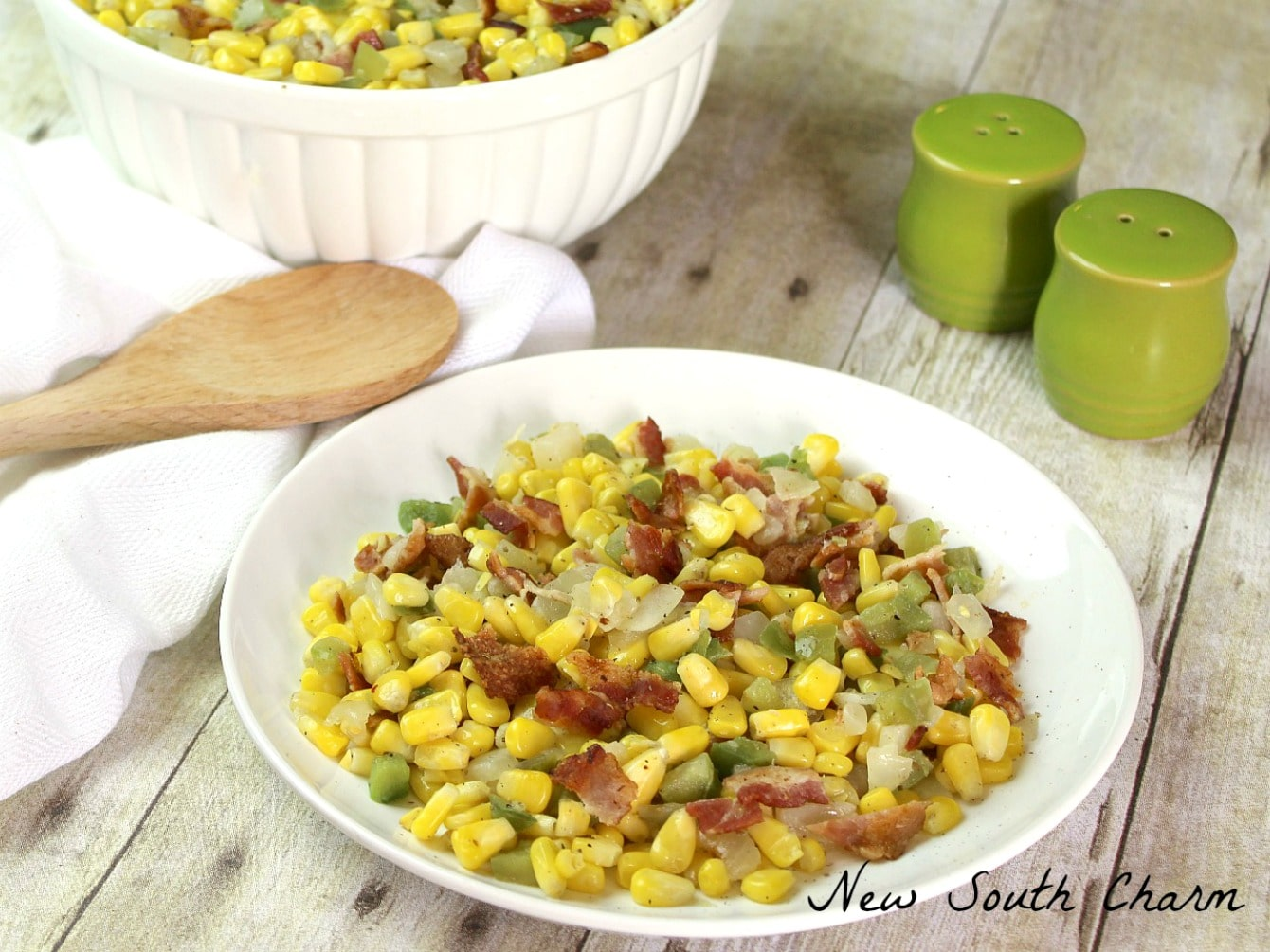 Skillet Fried Corn #SundaySupper