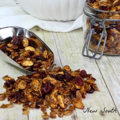Cranberry and Pumpkin Seed Granola