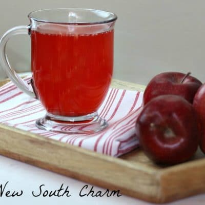 Red Hot Apple Cider #AppleWeek