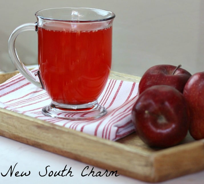 Red Hot Apple Cider #AppleWeek