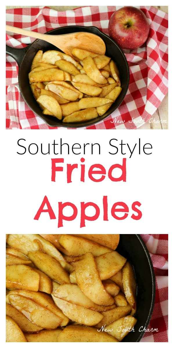 Southern Style Fried Apples
